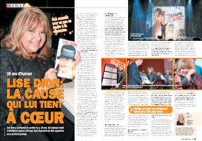 Entrevue Allo Vedettes de Louise A Mercier avec Lise Dion