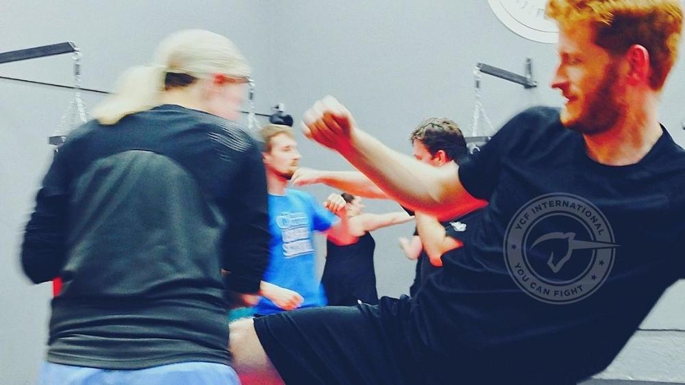 YOU CAN FIGHT Selbstverteidigung Krav Maga Instructor