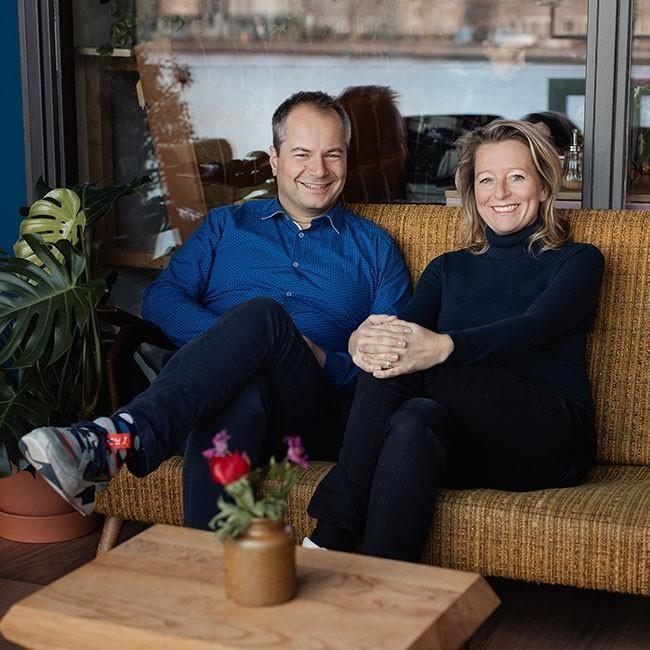 Anoek Gerlings en Rik Heijmen