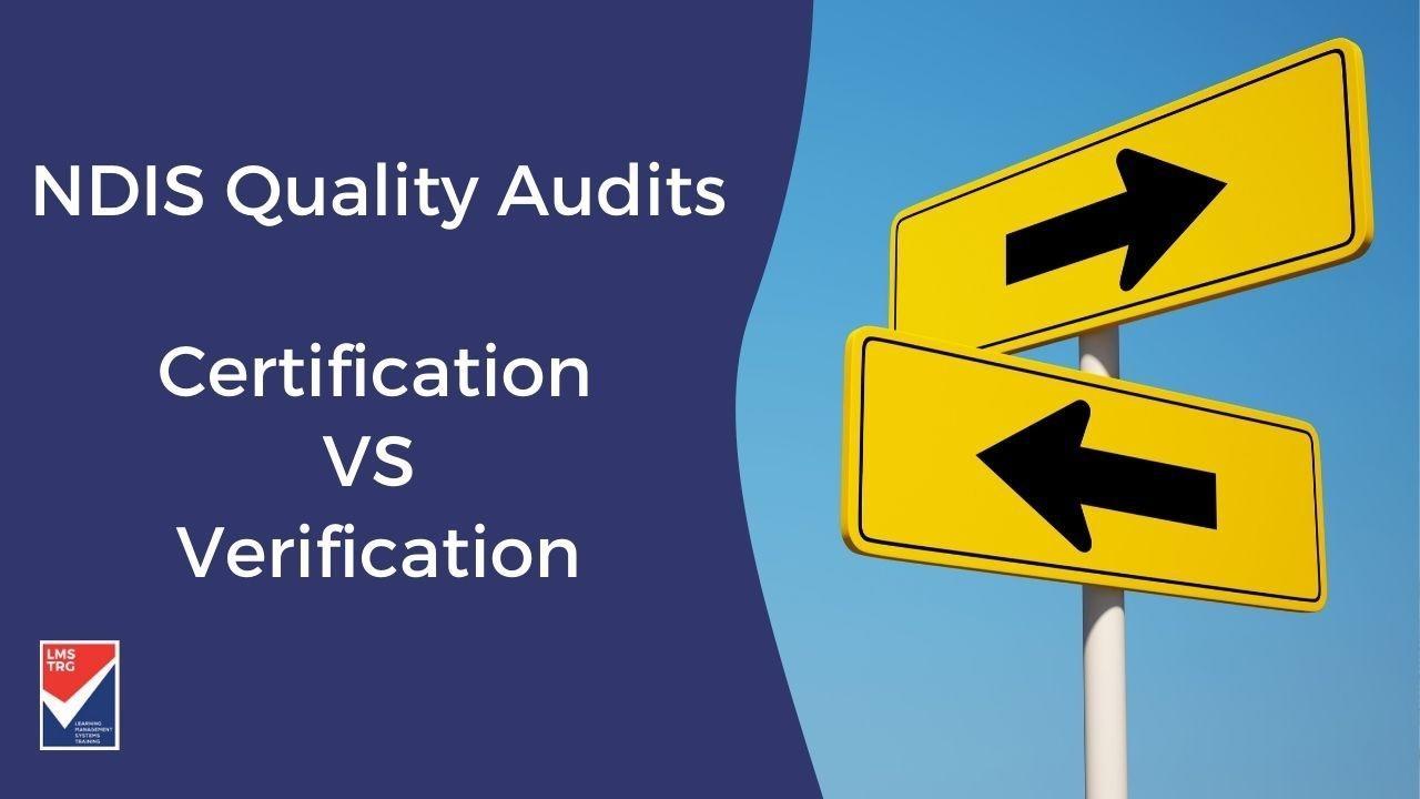 NDIS certification NDIS Verification