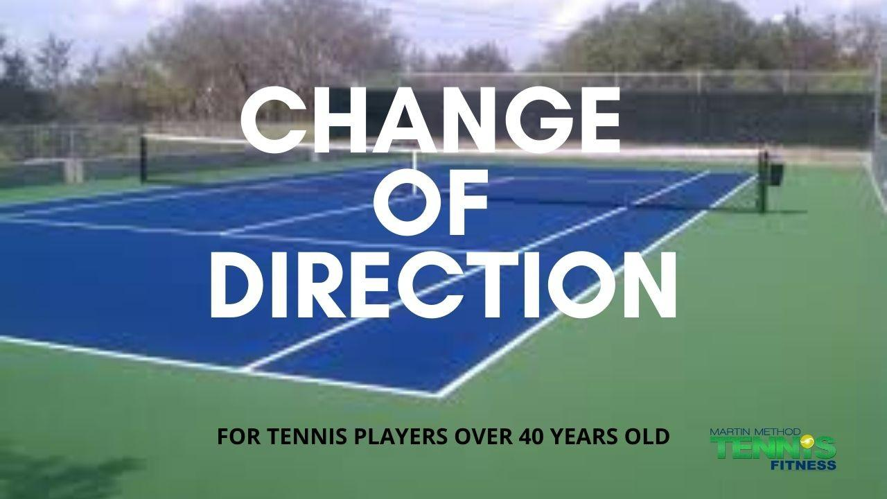 tennis change of direction