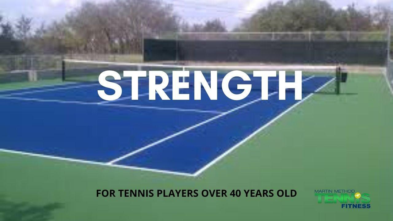 tennis strength
