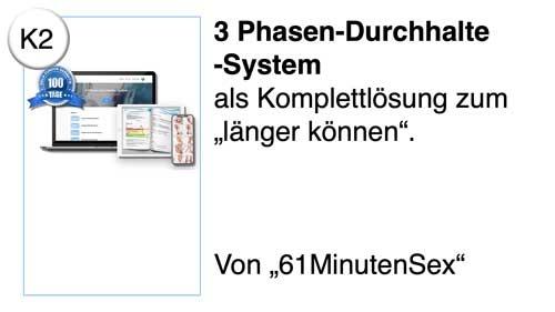 3 Phasen-Durchhalte-System