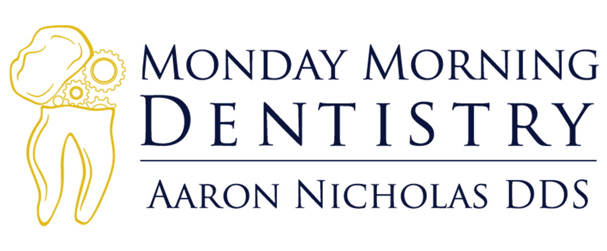 Monday Morning Dentistry Dark Blue Logo