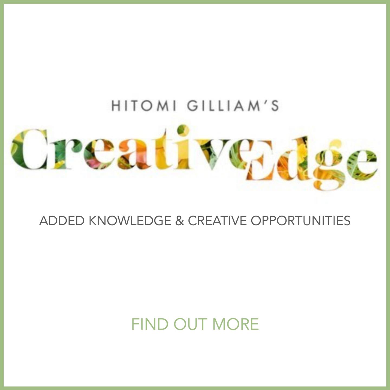 Hitomi Gilliam floral design workshop