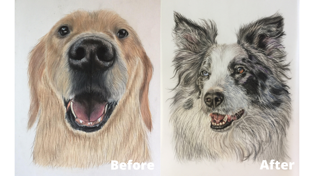 Zeynep Gur - Before and After - Patreon - Bonny Snowdon Fine Art