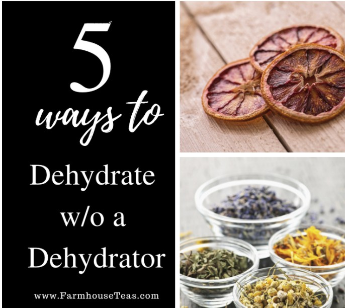 Dehydrating without a Dehydrator