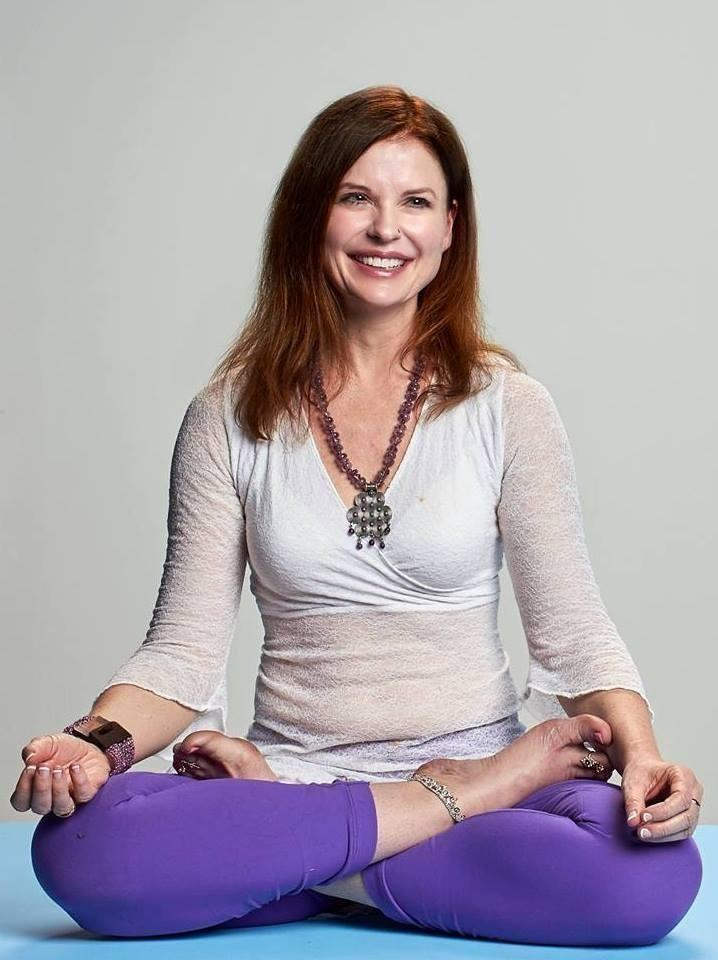 Dr. Katy Jane Lotus Seat Smiling