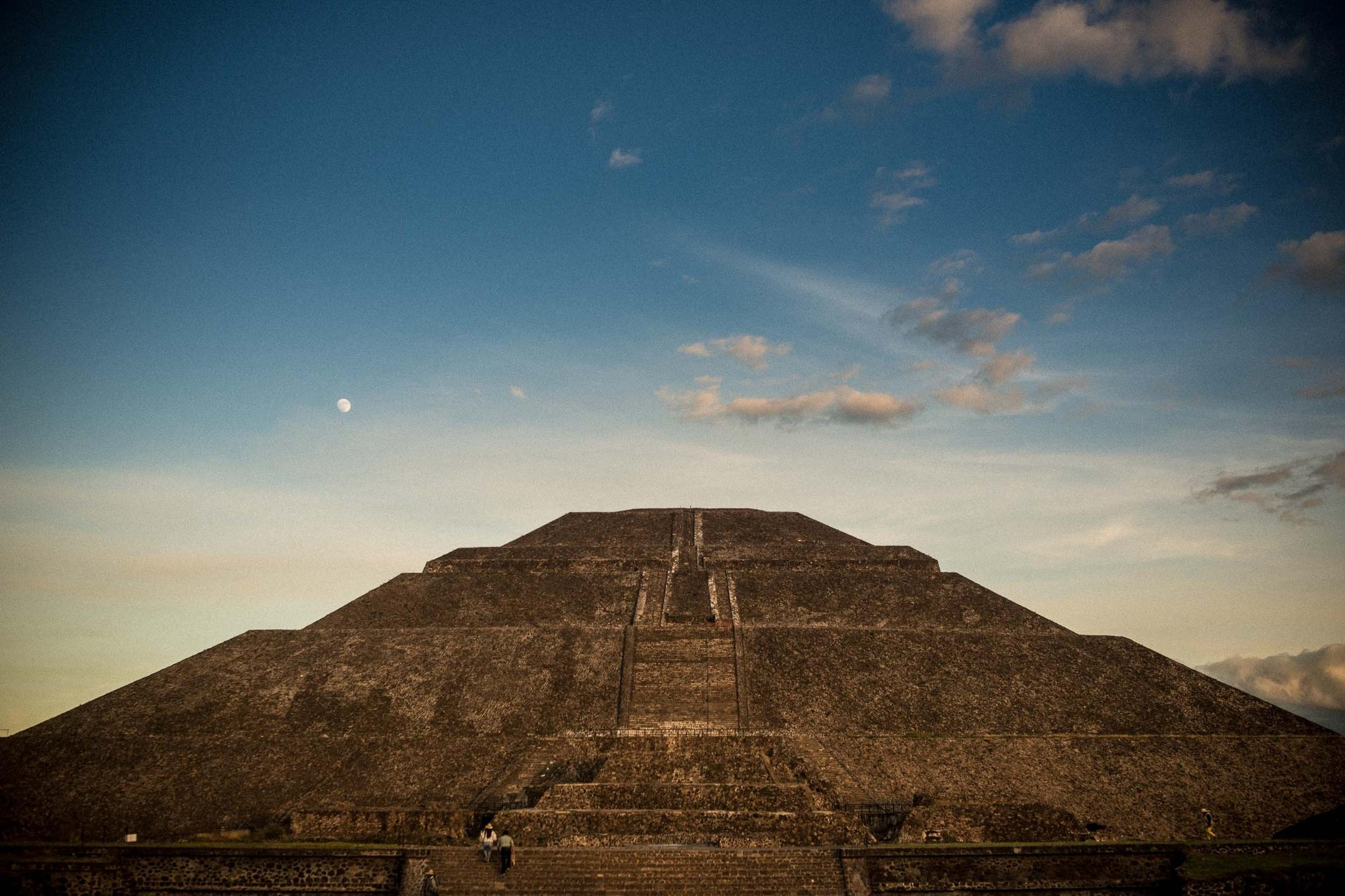 Teotihuacan and the Moon