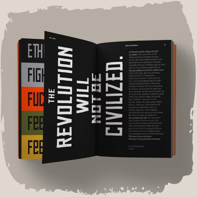 The Man UNcivilized Book