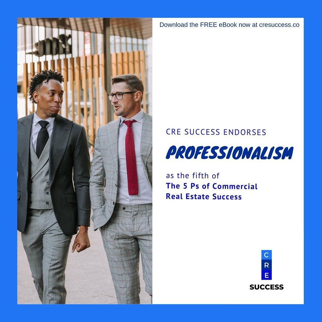 Passion. Persistence. Positive Thinking. Preparation. Professionalism. These are The 5 Ps of Commercial Real Estate Success. Get the mini eBook, written by Darren Krakowiak, when you join CRE Success: Membership.