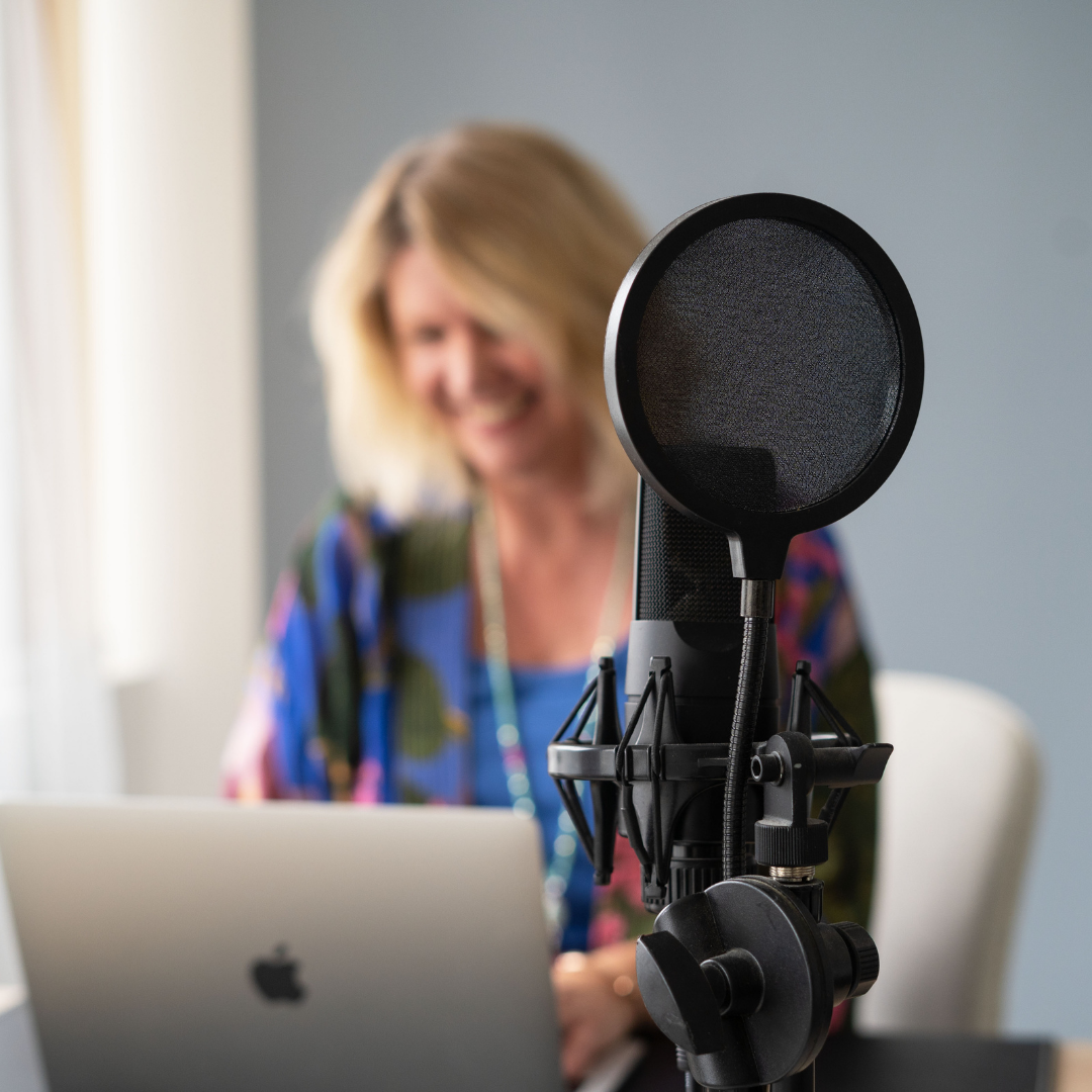 Jo Blackwell Podcast Training