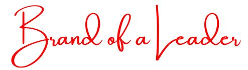 Brand of a Leader: a personal branding agency for entrepreneurs