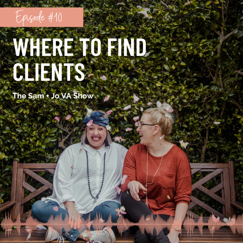 Where To Find Clients Podcast Episode Thumbnail
