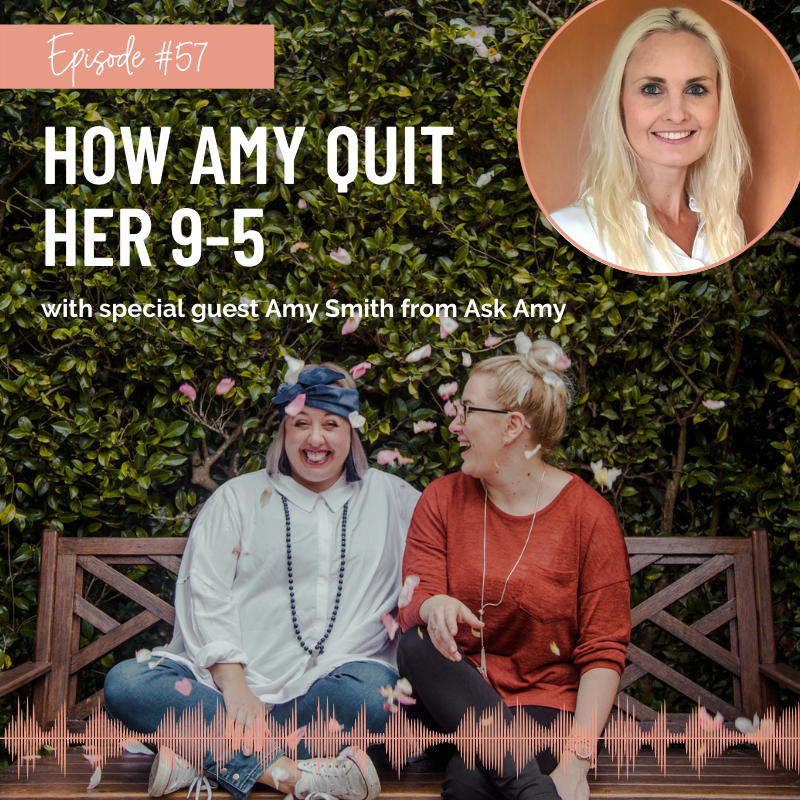 How Amy Quit Her 9-5 Podcast Episode Thumbnail