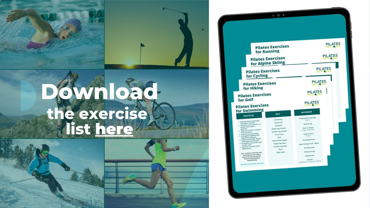 Pilates Exercises For Sports and Athletes