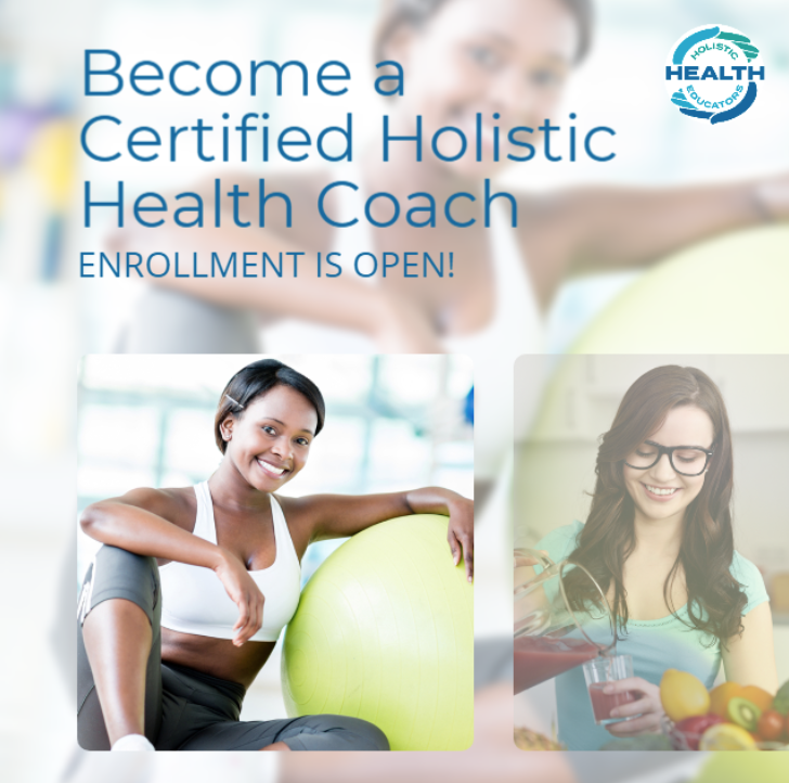certified health coach, holistic coach, holistic education