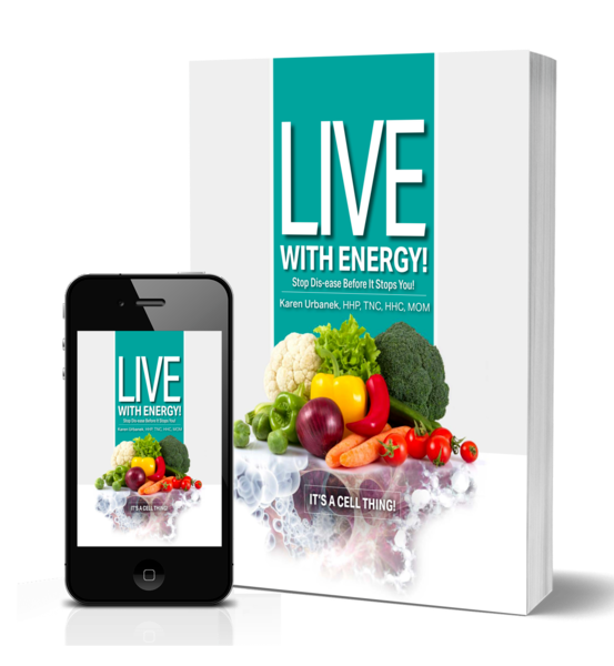 Live with Energy, cell health, stop disease
