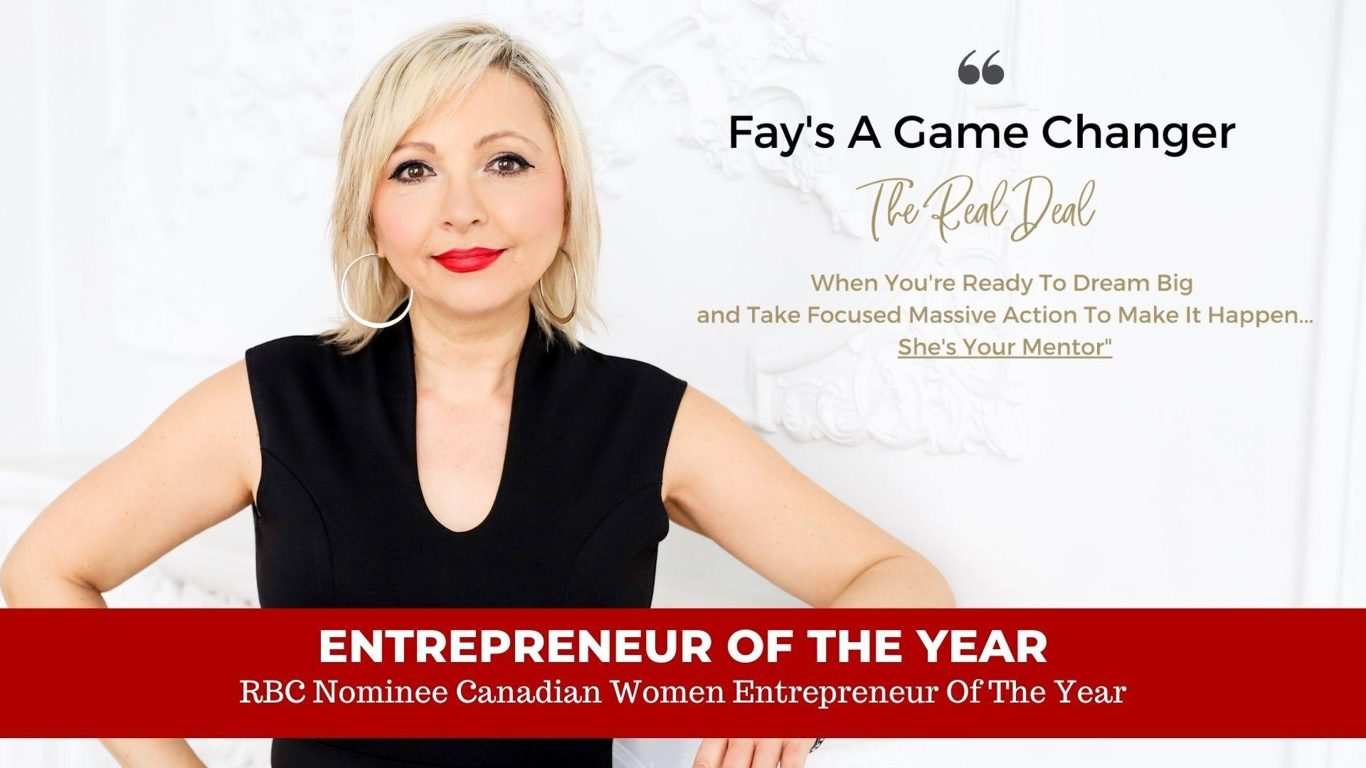fay chapple entrepreneur of the year