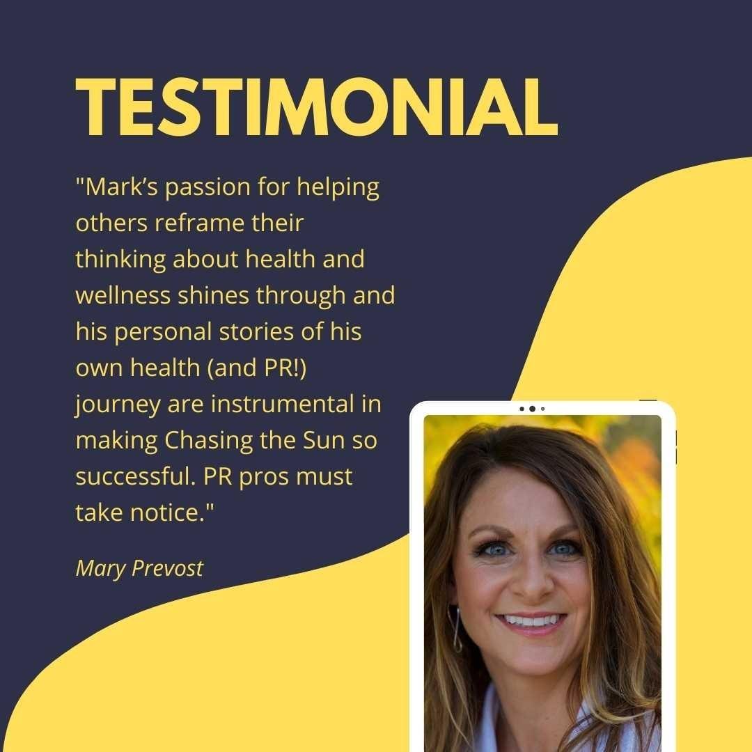 Mary Prevost testimonial