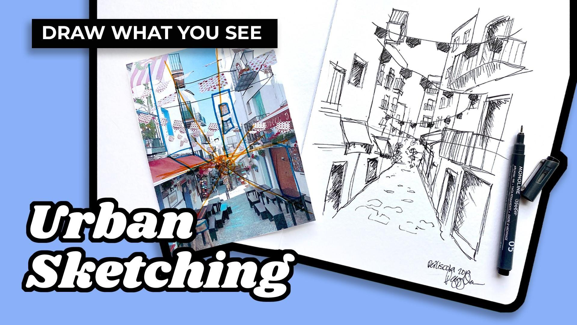 urban sketching tutorial
