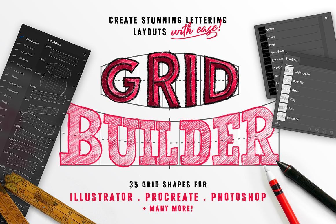 lettering grid builder