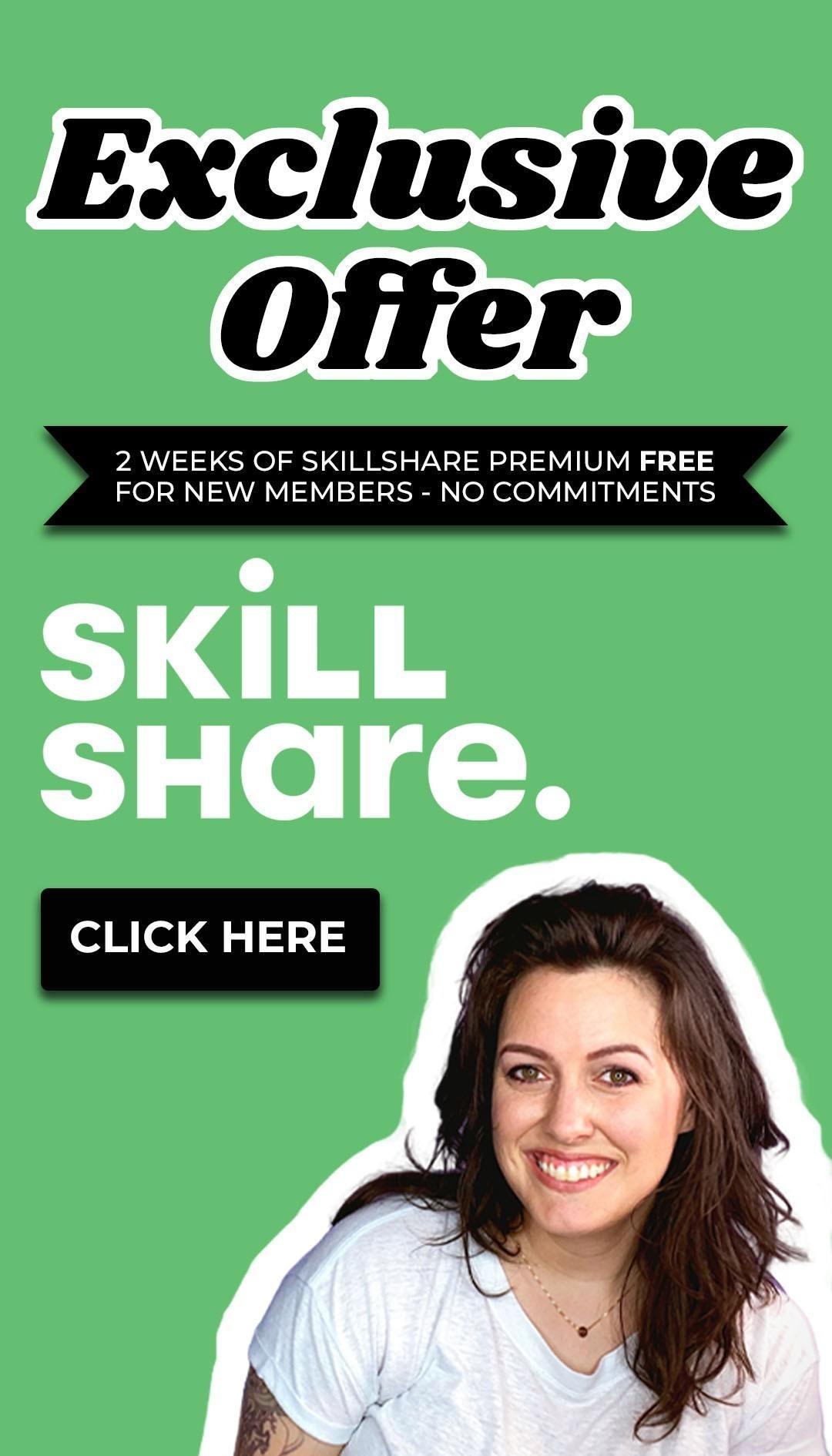 free skillshare promo code