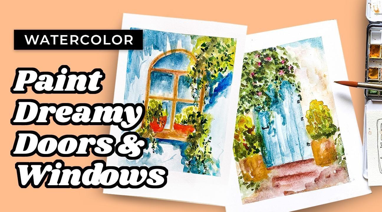 watercolor windows tutorial