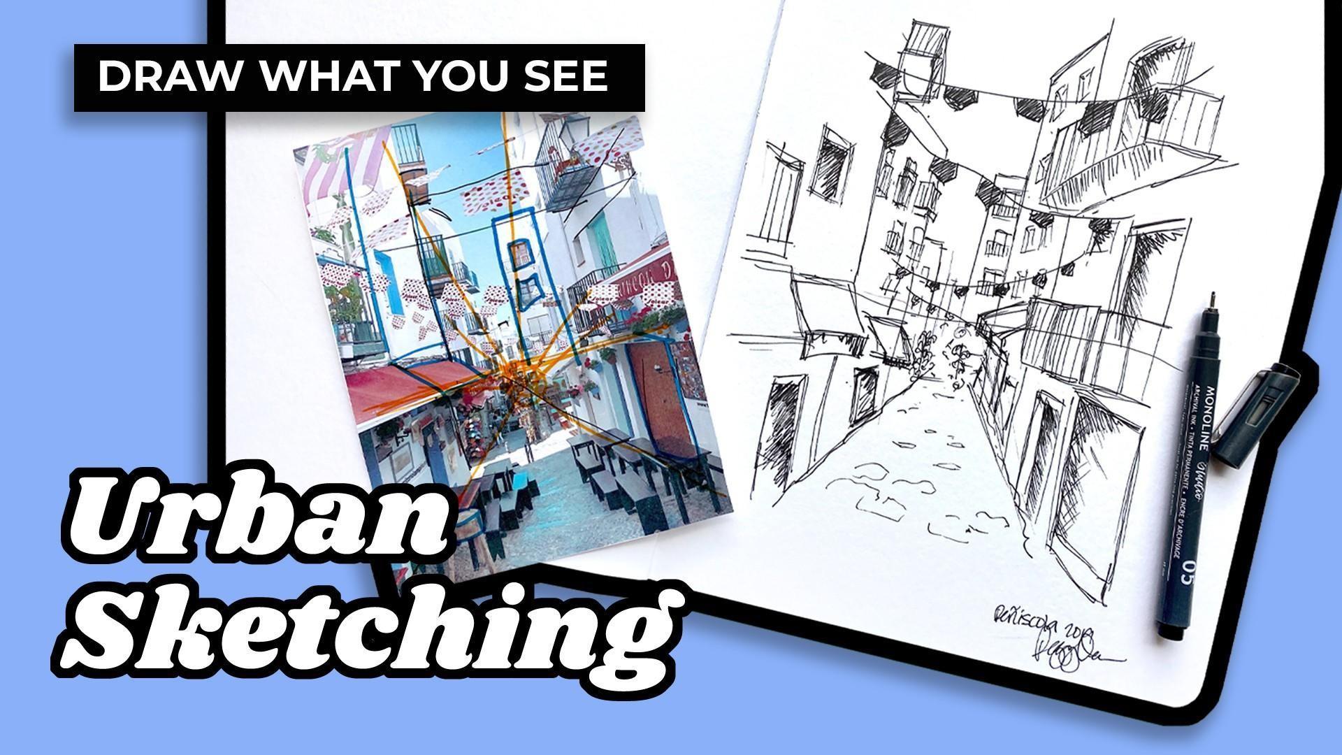 learn urban sketching