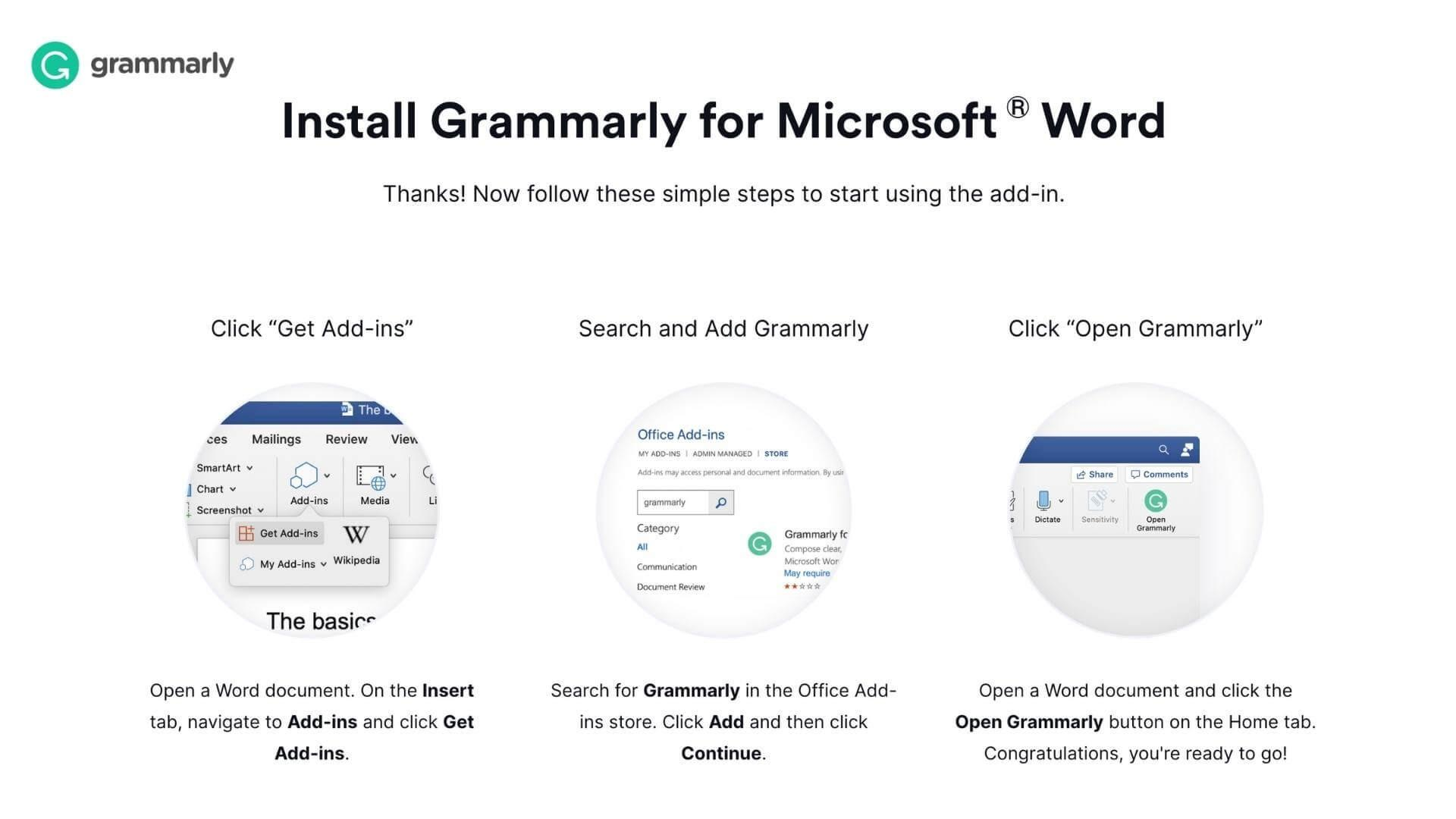 writing apps Grammarly