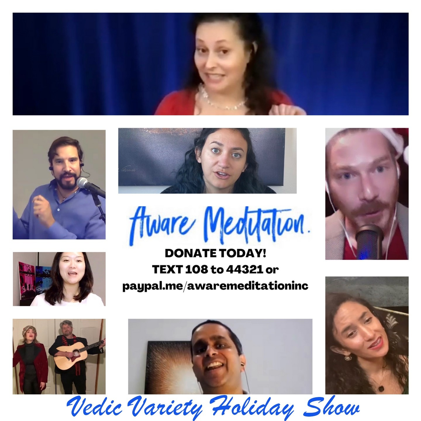 Vedic Variety Holiday Show Flyer