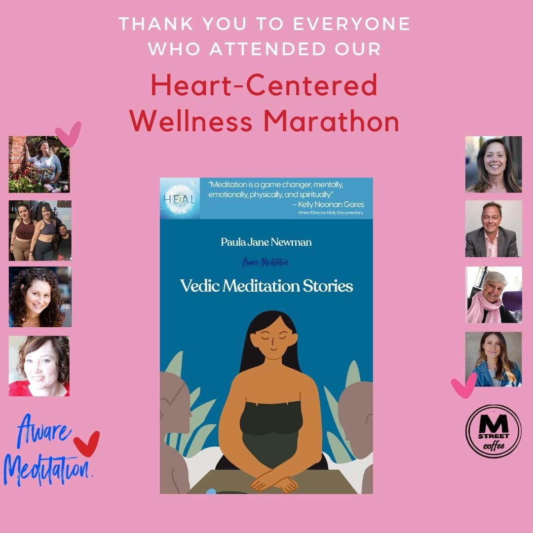 HHeart-Centered Wellness Marathon Flyer