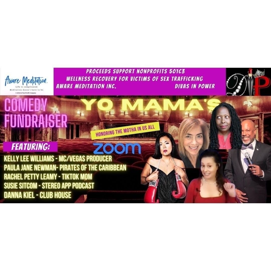 Yo Mama's Comedy Show Flyer