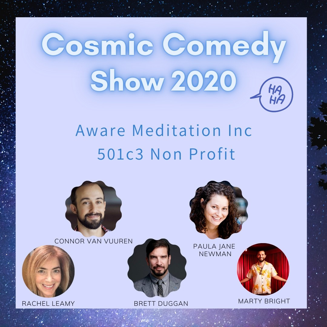 Cosmic Comedy Show Flyer