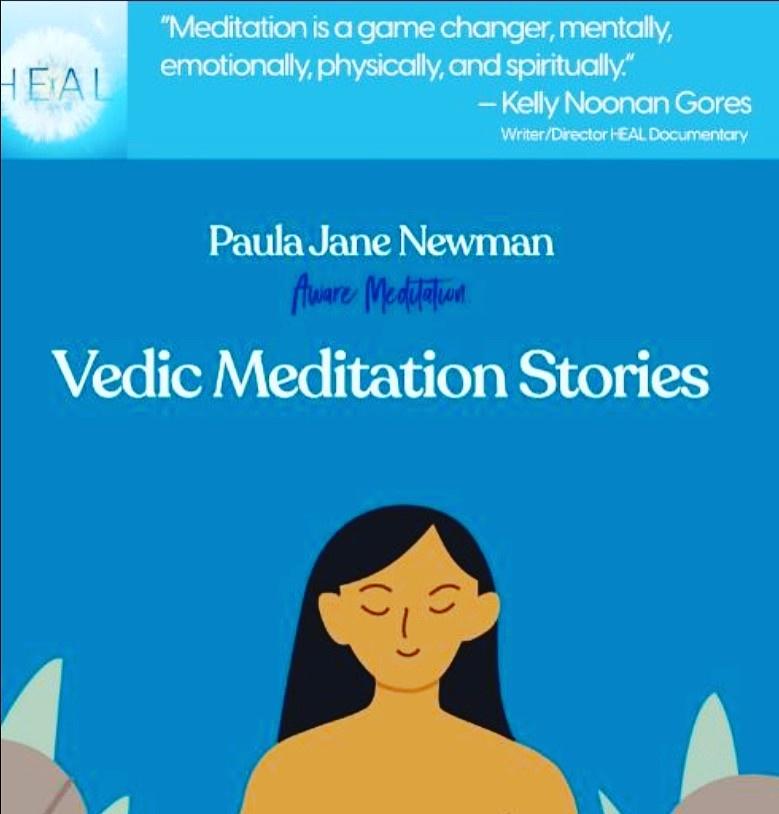 Vedic Meditation Stories E-Book Flyer
