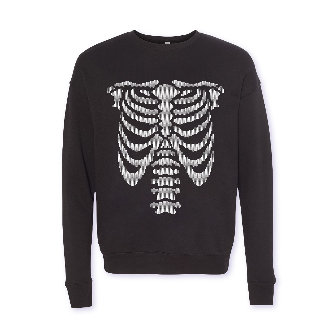 Jingle Bones Holiday Sweater
