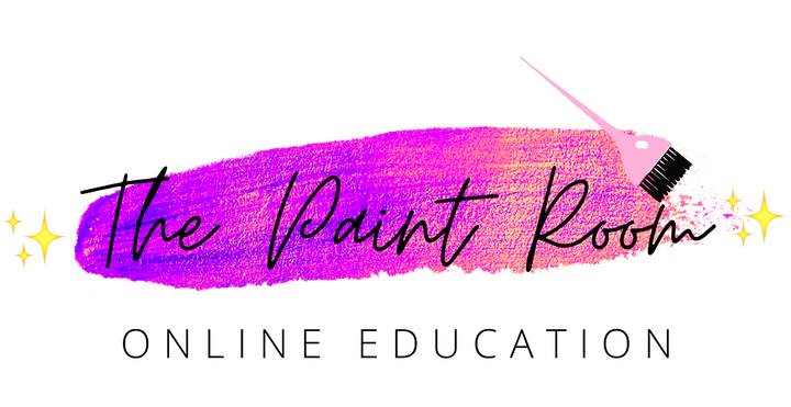 The Paint Room Online Education Painted Hair