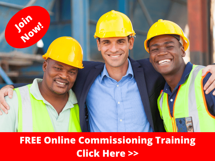 Join the FREE Online Commissioning Training Now!