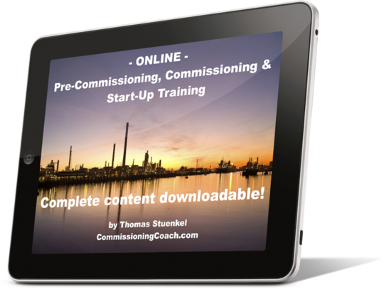 Participate at the online commissioning training on any device - anytime