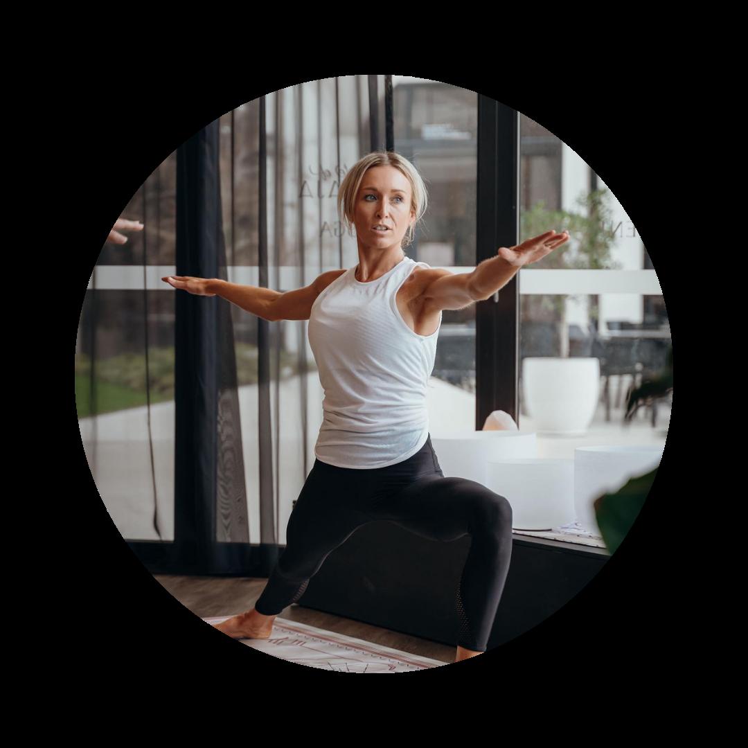 Alysha Sladden Yoga teacher mind body to lead