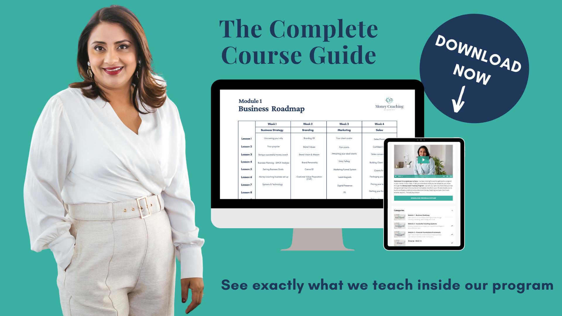 Money Coaching Academy - Program Outline Download