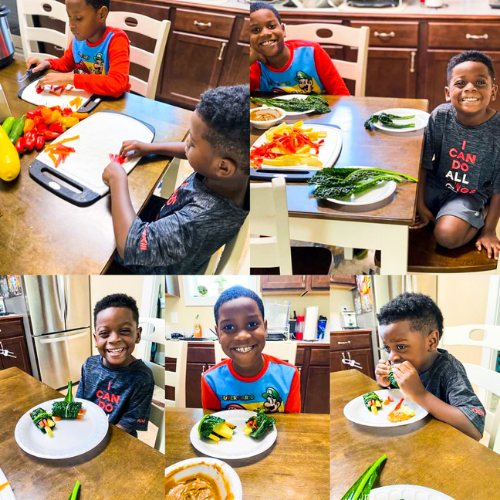 Tiny Green Chef - Virtual Cooking Classes for Kids