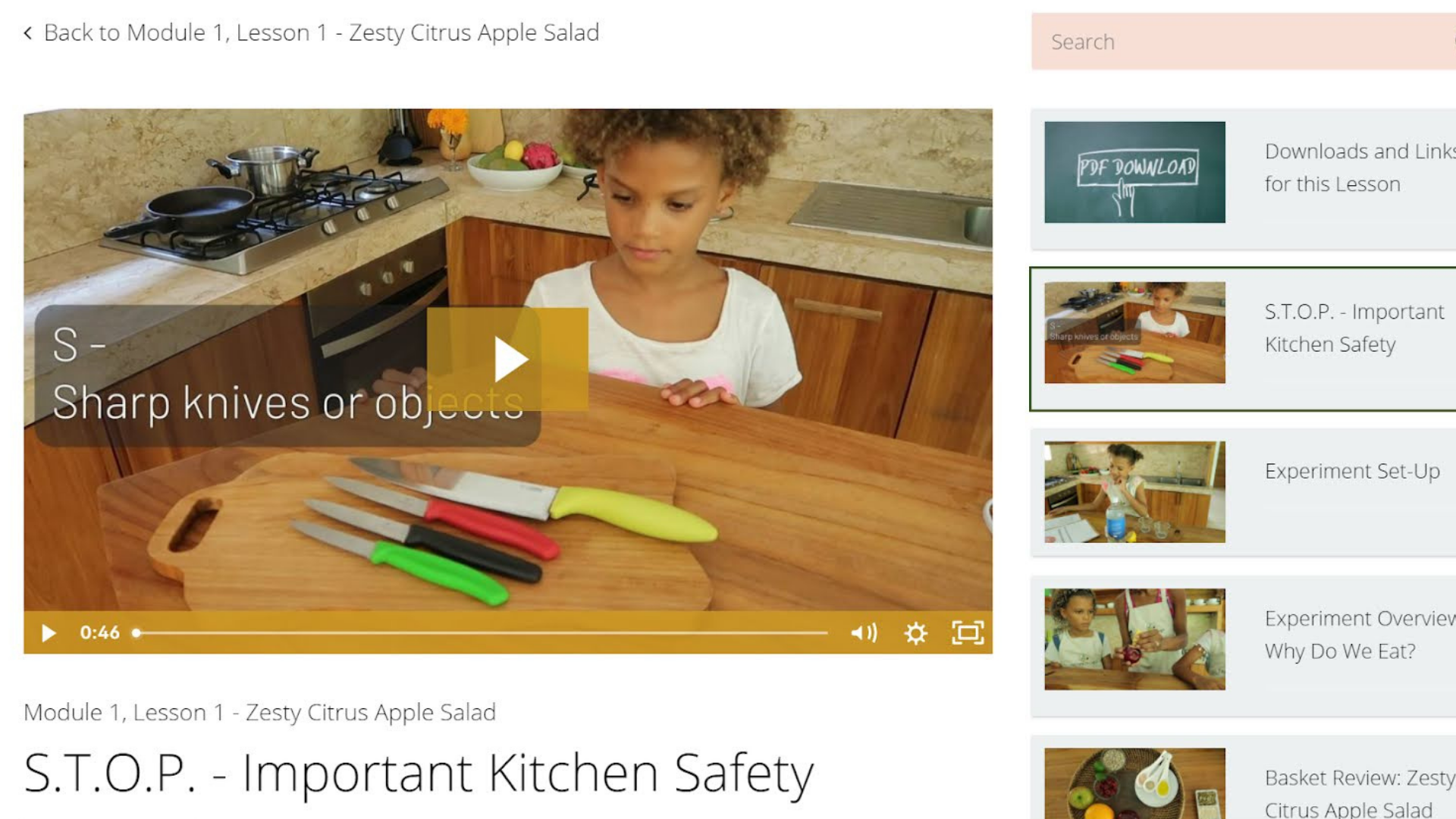 Kids Cooking Classes - Tiny Green Chef