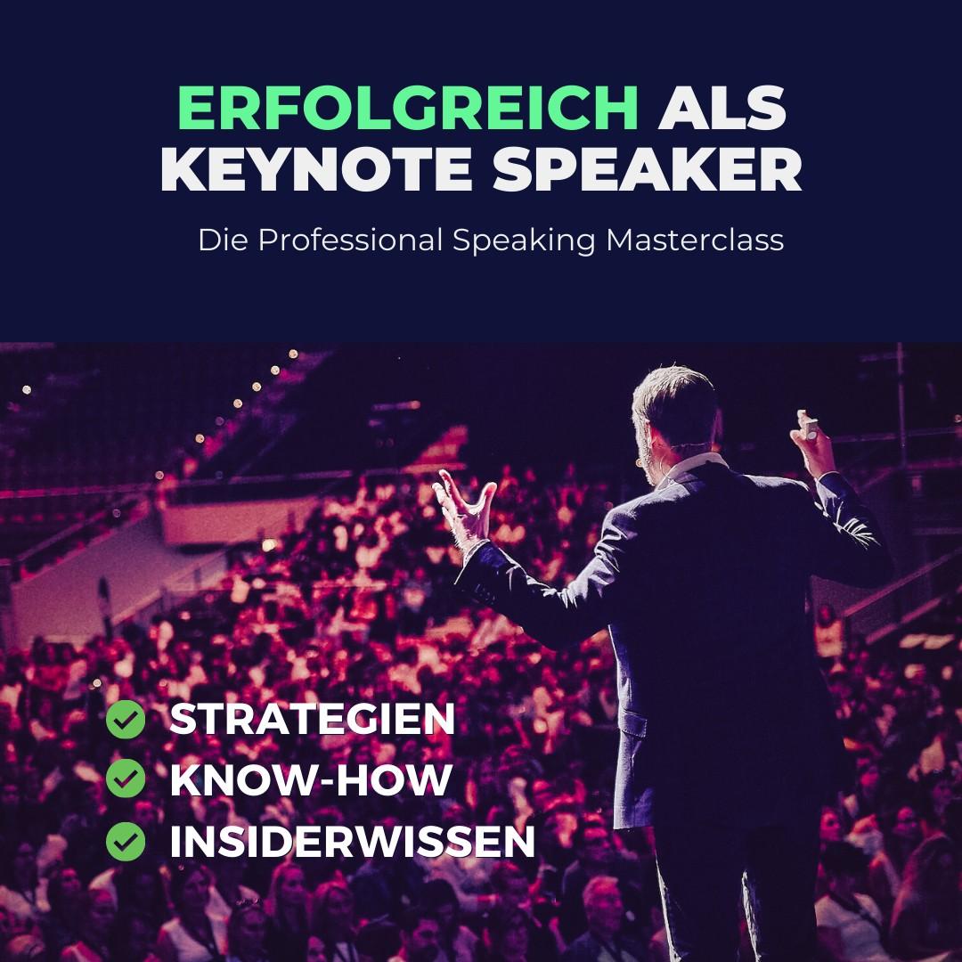 keynote speaker online kurs