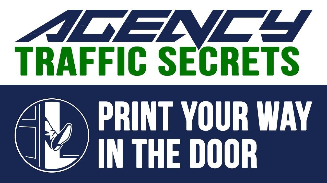 Print Your Way in The Door Client Getting Method