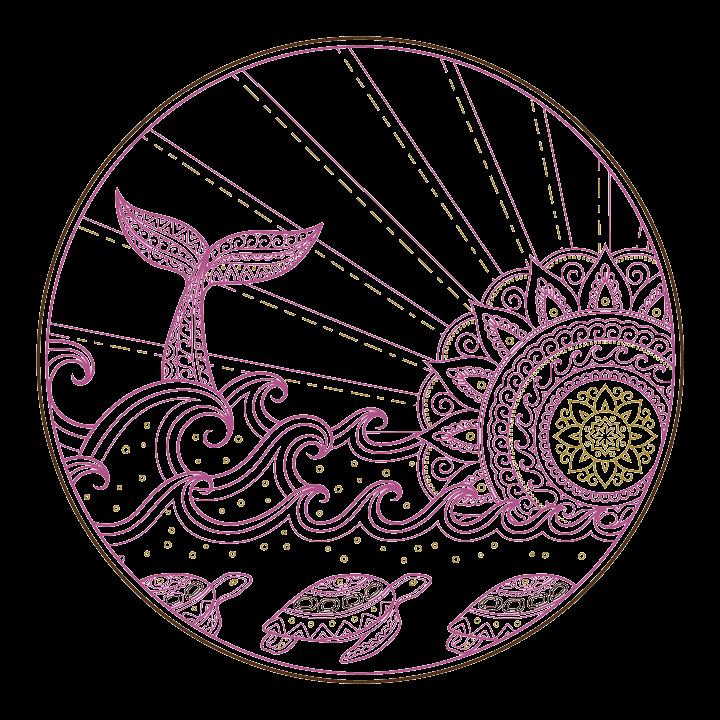 Symbol of shamanic healing