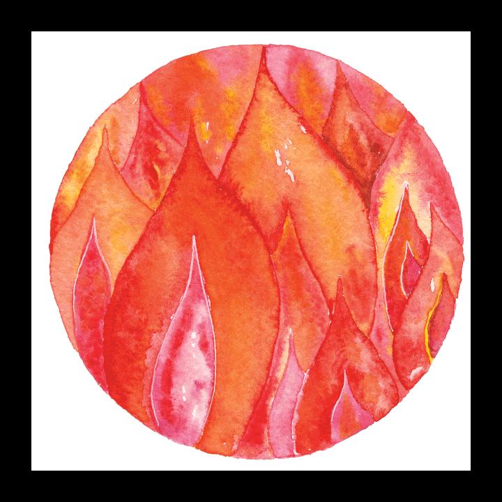Symbol of ayurvedic healing