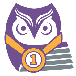 Trading Up Consulting Owl Logo
