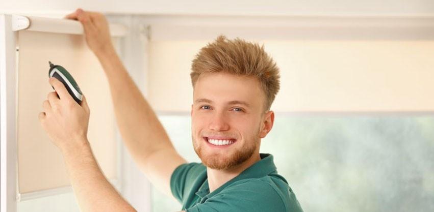installing window treatments
