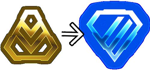 gold to diamond